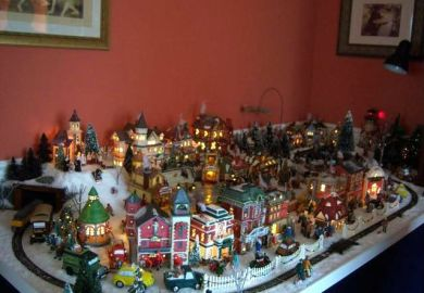 Christmas Village Layout Ideas