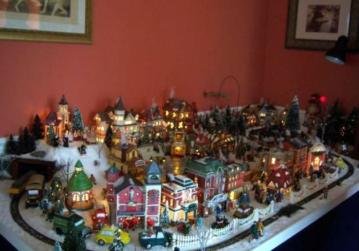 Christmas Village Layout Ideas