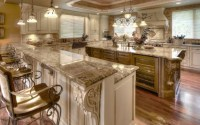 Fancy kitchen design.