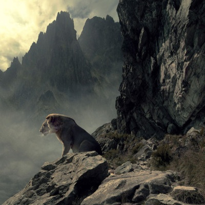 """Amazing photo - This reminds me of """"The Horse and His Boy,"""" when Aslan crosses the mountain pass with Shasta. Just read the book! :)"""