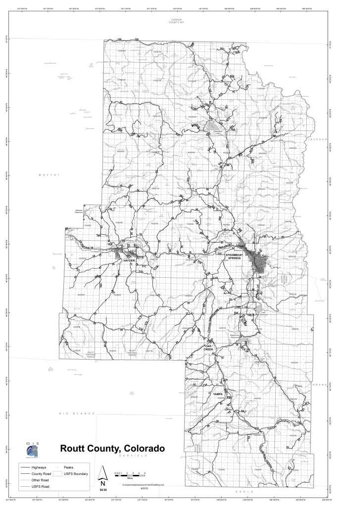 colorado map with county lines and cities