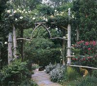Shapiro's Garden: gothic garden accents
