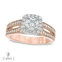 Rose Gold Rings: Rose Gold Rings From Zales Engagement