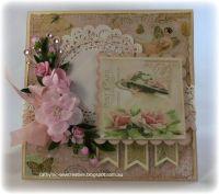 Card: Shabby Chic Card | Cardlift Shabby | Pinterest
