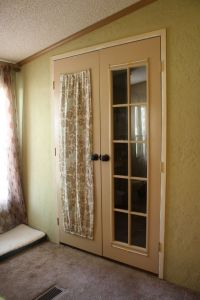 How to make french door curtains | DINE IN | Pinterest