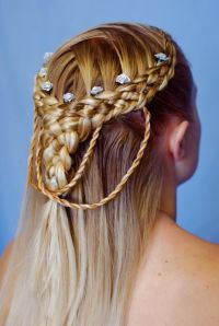 Celtic Blonde Braided hairstyle | All Things Celtic ...