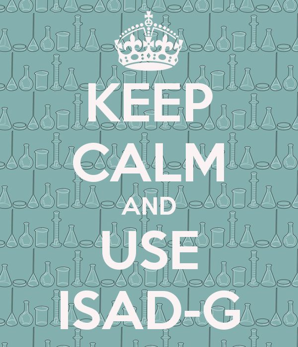 Keep calm and use ISAD-G