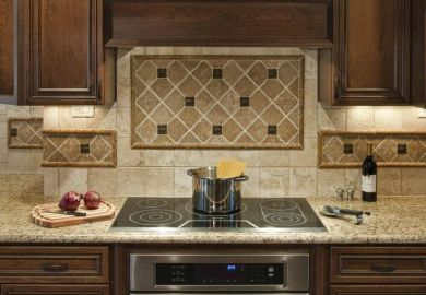 Kitchen Tile Designs For Backsplash