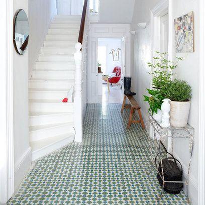 mosaic floors + white | gap interiors