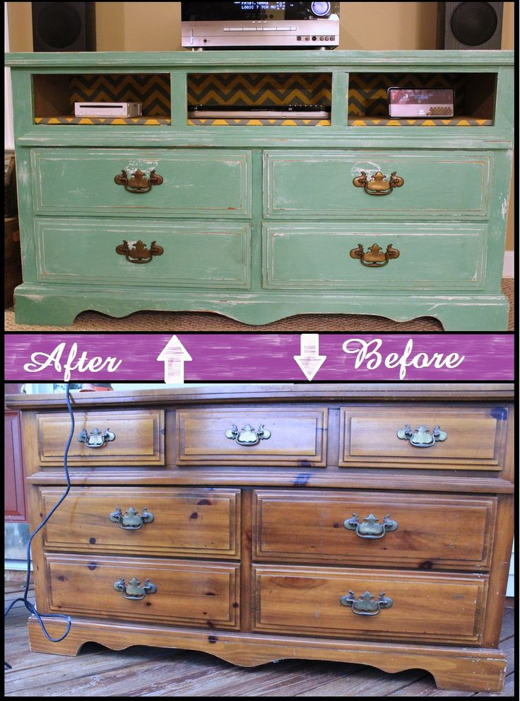 Jobbers Guide How to make a old dresser into a tv stand