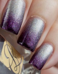 Silver/purple | Nail Designs | Pinterest