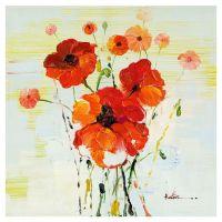 Poppy Canvas Wall Art   home decor   Pinterest