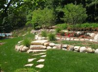 Landscaping Ideas For Backyard Hill | Mystical Designs and ...
