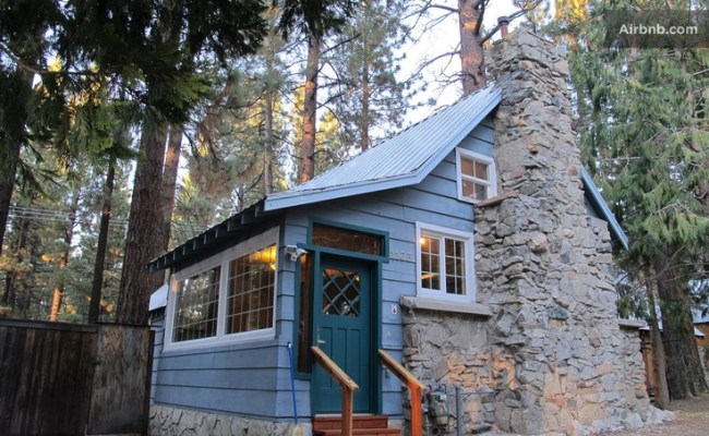 Lake Tahoe Cabin Airbnb Wander Pinterest