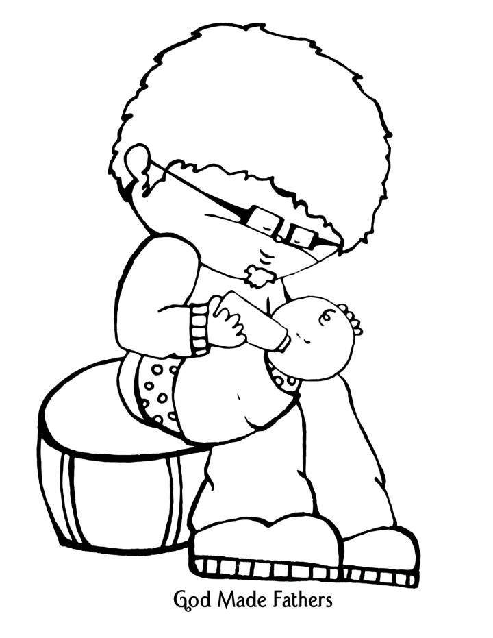 God The Father Pages Coloring Pages