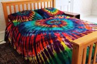 Queen Tie-dye Bed Set | For The Home | Pinterest