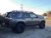 2014 4runner TE with drabbits roof rack | Jared's ...