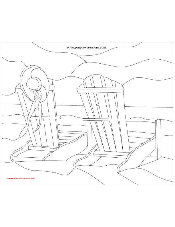 aqua adirondack chairs how to paint leather chair 1000+ ideas about beach coloring pages on pinterest | colouring pages, and summer ...