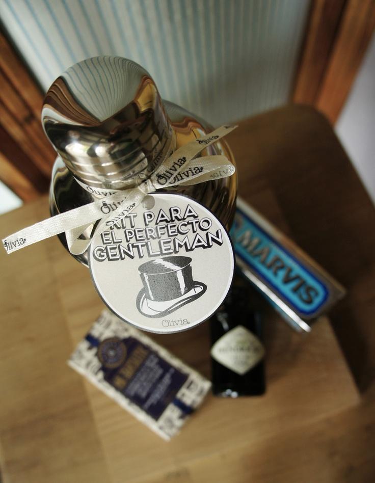 Kit Gentleman - Coctelera  http://oliviatheshop.com #oliviasoaps