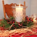 Simple for breakfast table christmas decorating ideas pinterest