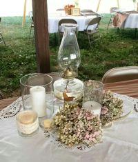 Country Wedding table settings | My Wedding | Pinterest