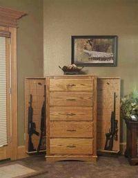 Dresser/gun cabinet