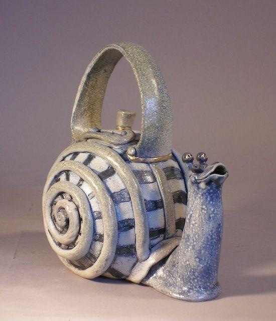 snail teapot