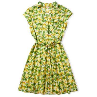 Lemon Print Dress £18 from Tu Clothing At Sainsbury's
