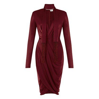Altuzarra For Target: wrap dress in red, $39.99