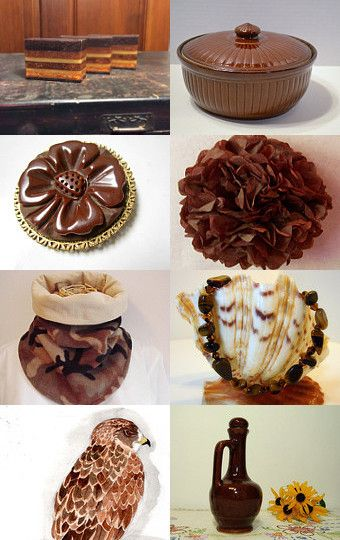It's about the browns! by Rachel on Etsy--Pinned with TreasuryPin.com