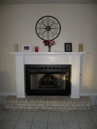 DIY : Fireplace Mantel and surround | The Apartment ...