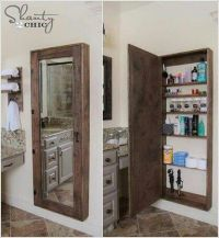 Full length mirror and storage cabinet | Dream Home ...