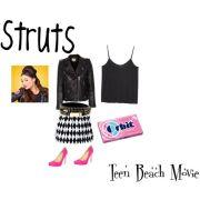 teen beach movie struts hairstyle