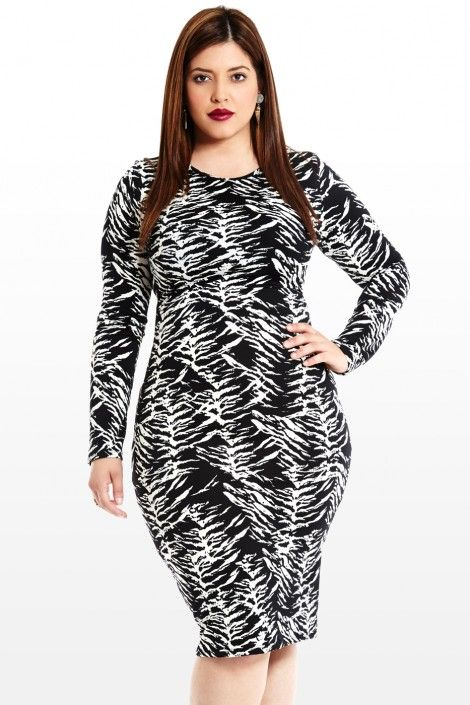 Sahara Heat Animal Print Dress Fashion to Figure