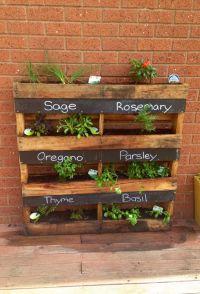 Herb Planter Box | Garden Ideas | Pinterest