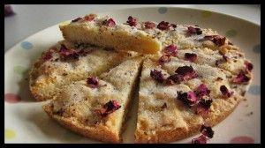 Rose shortbread