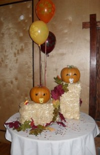 fall decor for a fall baby shower | For the Baby | Pinterest