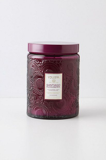 Voluspa Cut Glass Jar - anthropologie.com