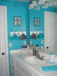 Tiffany blue bathroom | i love home | Pinterest