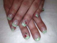 Spring nails | Gel nail designs. My work! | Pinterest