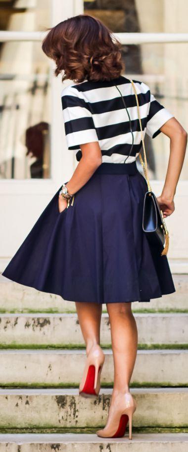 Chic for summer [ AlbertoFermaniUSA.com ] #summer #fashion #style