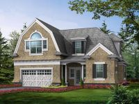 Dutch Colonial Carriage House Plan | homey places | Pinterest