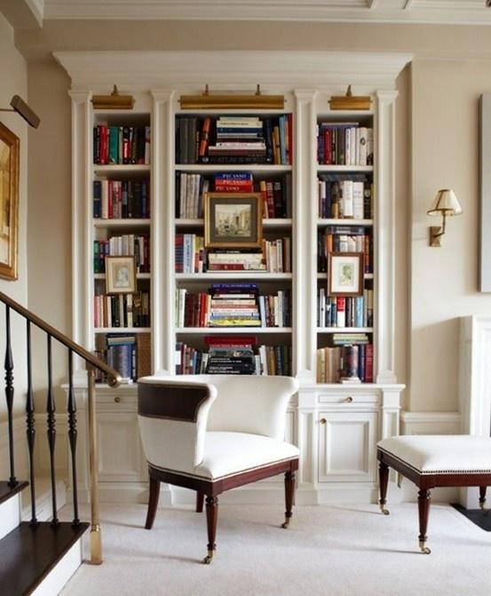 Bookcases Family Den Study Pinterest