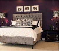 Purple bedroom. Smoky. Sexy. Plum. Aubergine. Eggplant ...