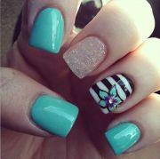 beautiful summer nail design