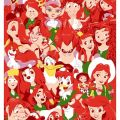 Disney characters with red hair disneyness pinterest