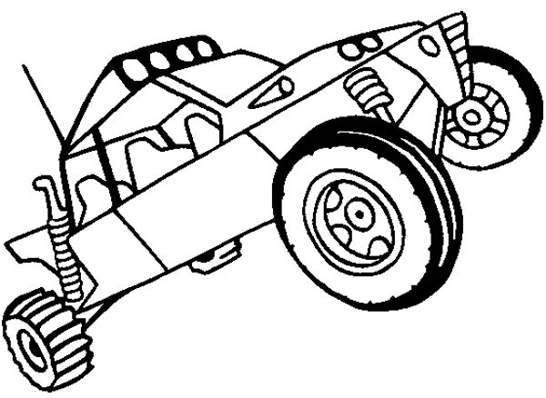 Dune Buggy Coloring Pages