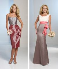 Two-Tone Bridesmaid Dresses | Wedding | Pinterest