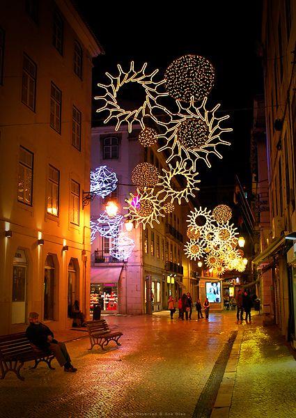 Natale a Lisbona, Portogallo