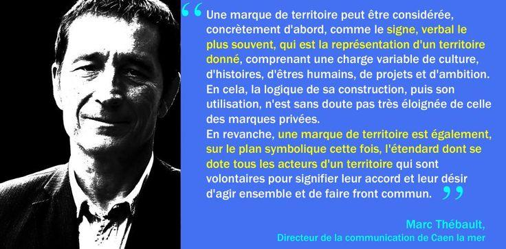 Marc Thébault, cité par Hervé Monier sur Twitter